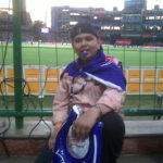 at the kotla ground